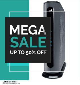 Grab 10 Best Black Friday and Cyber Monday Cable Modems Deals & Sales