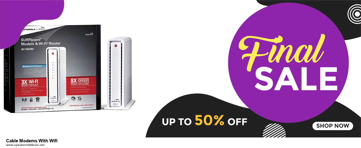 10 Best Cable Modems With Wifi Black Friday 2020 and Cyber Monday Deals Discount Coupons