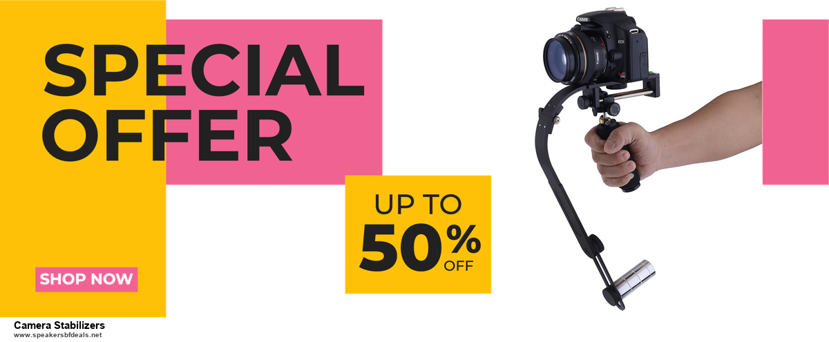 13 Exclusive Black Friday and Cyber Monday Camera Stabilizers Deals 2020
