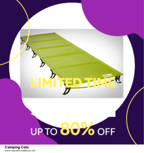 13 Best Black Friday and Cyber Monday 2020 Camping Cots Deals [Up to 50% OFF]