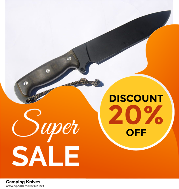 6 Best Camping Knives Black Friday 2020 and Cyber Monday Deals | Huge Discount