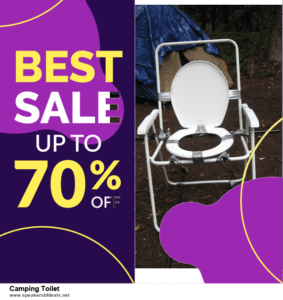 7 Best Camping Toilet After Christmas Deals [Up to 30% Discount]