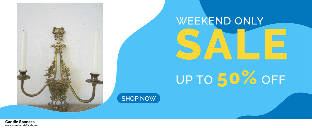 5 Best Candle Sconces Black Friday 2020 and Cyber Monday Deals & Sales