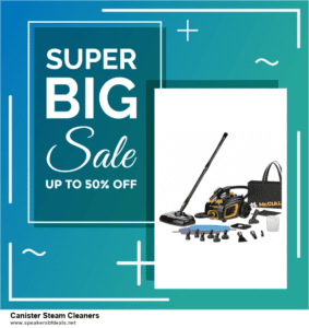List of 6 Canister Steam Cleaners After Christmas DealsDeals [Extra 50% Discount]