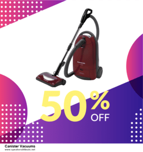 Top 11 Black Friday and Cyber Monday Canister Vacuums 2020 Deals Massive Discount