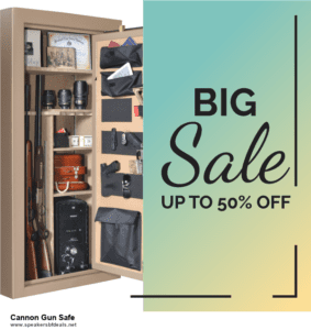10 Best Black Friday 2020 and Cyber Monday  Cannon Gun Safe Deals | 40% OFF