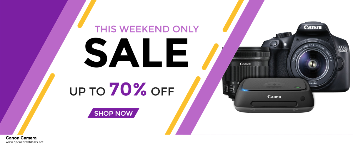 Grab 10 Best Black Friday and Cyber Monday Canon Camera Deals & Sales