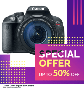 List of 10 Best Black Friday and Cyber Monday Canon Cmos Digital Slr Camera Deals 2020