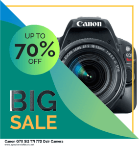 10 Best Black Friday 2020 and Cyber Monday  Canon G7X Sl2 T7I 77D Dslr Camera Deals | 40% OFF