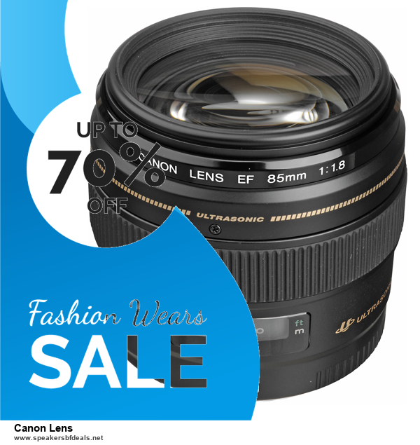 List of 10 Best Black Friday and Cyber Monday Canon Lens Deals 2020