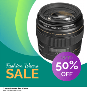 13 Best After Christmas Deals 2020 Canon Lenses For Video Deals [Up to 50% OFF]