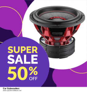 Top 5 Black Friday and Cyber Monday Car Subwoofers Deals 2020 Buy Now