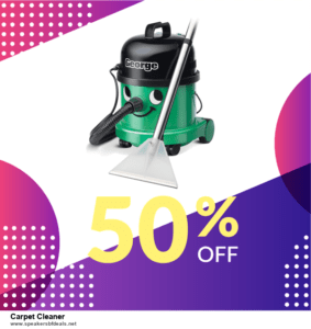 List of 10 Best Black Friday and Cyber Monday Carpet Cleaner Deals 2020
