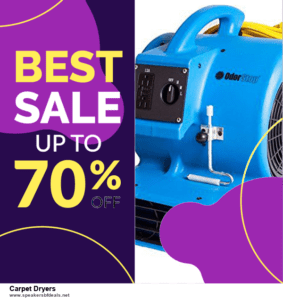 Top 10 Carpet Dryers After Christmas Deals