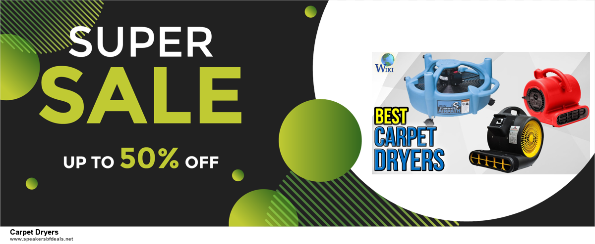 Top 10 Carpet Dryers Black Friday 2020 and Cyber Monday Deals