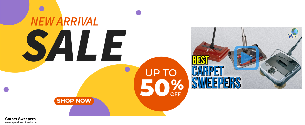 Top 10 Carpet Sweepers Black Friday 2020 and Cyber Monday Deals