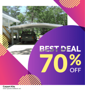 13 Best Black Friday and Cyber Monday 2020 Carport Kits Deals [Up to 50% OFF]