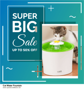 Top 11 Black Friday and Cyber Monday Cat Water Fountain 2020 Deals Massive Discount