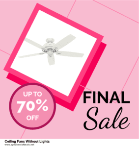 10 Best Ceiling Fans Without Lights After Christmas Deals Discount Coupons