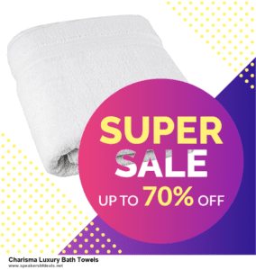List of 10 Best Black Friday and Cyber Monday Charisma Luxury Bath Towels Deals 2020
