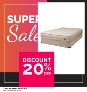 5 Best Chattam Wells Mattress Black Friday 2020 and Cyber Monday Deals & Sales