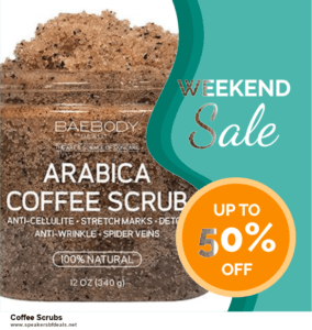 10 Best After Christmas Deals  Coffee Scrubs Deals | 40% OFF