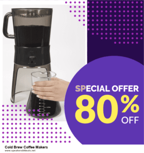 9 Best Cold Brew Coffee Makers After Christmas Deals Sales
