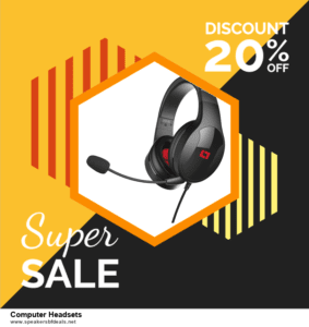 9 Best After Christmas Deals Computer Headsets Deals 2020 [Up to 40% OFF]