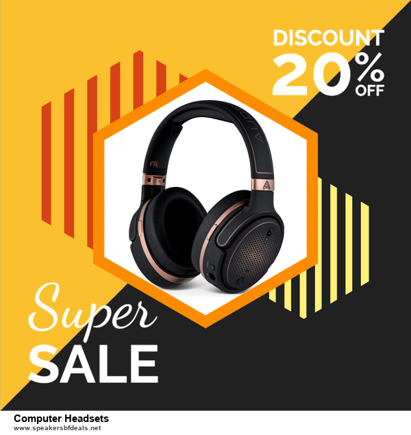 9 Best Black Friday and Cyber Monday Computer Headsets Deals 2020 [Up to 40% OFF]