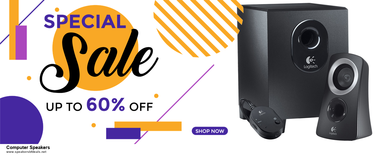 6 Best Computer Speakers Black Friday 2020 and Cyber Monday Deals | Huge Discount