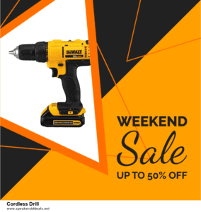 List of 6 Cordless Drill After Christmas DealsDeals [Extra 50% Discount]