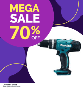 9 Best Cordless Drills After Christmas Deals Sales
