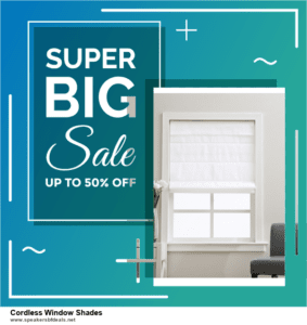Top 11 Black Friday and Cyber Monday Cordless Window Shades 2020 Deals Massive Discount