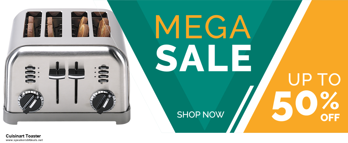 Top 5 Black Friday 2020 and Cyber Monday Cuisinart Toaster Deals [Grab Now]