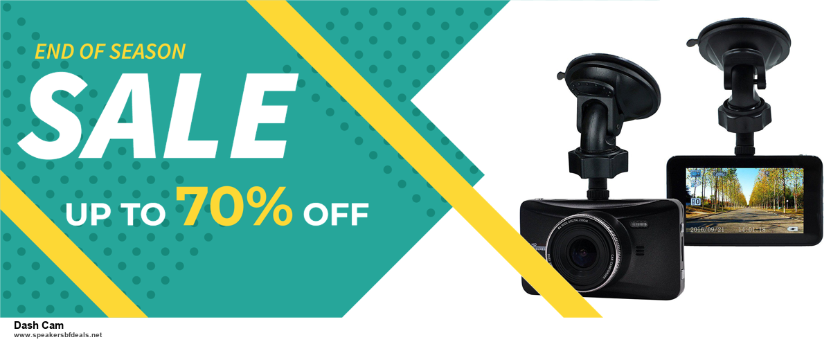 7 Best Dash Cam Black Friday 2020 and Cyber Monday Deals [Up to 30% Discount]