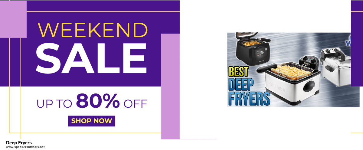 List of 10 Best Black Friday and Cyber Monday Deep Fryers Deals 2020