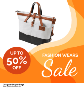 9 Best Designer Diaper Bags Black Friday 2020 and Cyber Monday Deals Sales