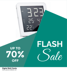10 Best Digital Wall Clocks After Christmas Deals Discount Coupons