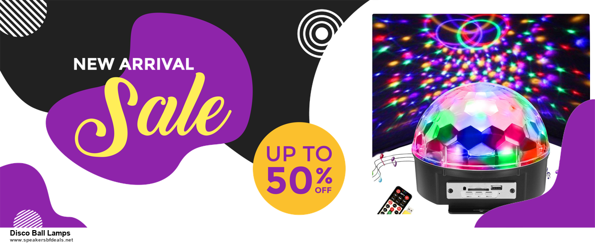 9 Best Black Friday and Cyber Monday Disco Ball Lamps Deals 2020 [Up to 40% OFF]