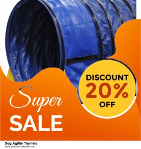 10 Best Dog Agility Tunnels Black Friday 2020 and Cyber Monday Deals Discount Coupons