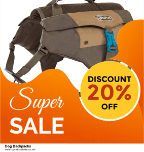 Top 10 Dog Backpacks Black Friday 2020 and Cyber Monday Deals