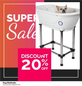 List of 10 Best Black Friday and Cyber Monday Dog Bathtubs Deals 2020