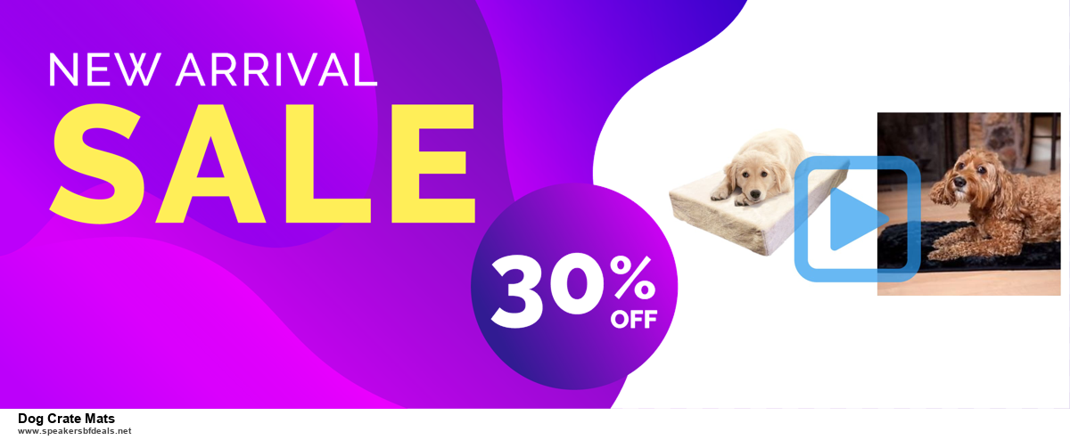 List of 6 Dog Crate Mats Black Friday 2020 and Cyber MondayDeals [Extra 50% Discount]