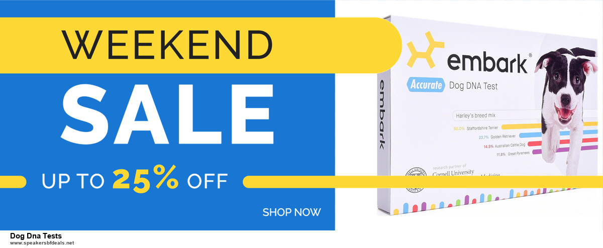 6 Best Dog Dna Tests Black Friday 2020 and Cyber Monday Deals | Huge Discount