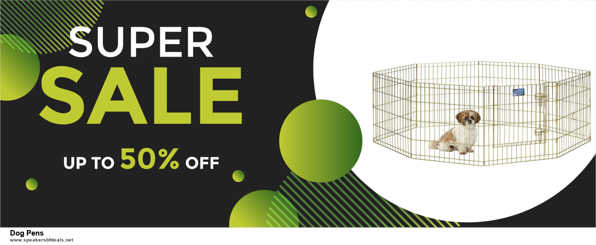 5 Best Dog Pens Black Friday 2020 and Cyber Monday Deals & Sales