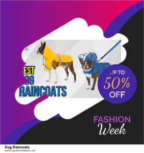 Top 5 Black Friday 2020 and Cyber Monday Dog Raincoats Deals [Grab Now]