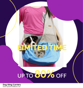 List of 6 Dog Sling Carriers After Christmas DealsDeals [Extra 50% Discount]
