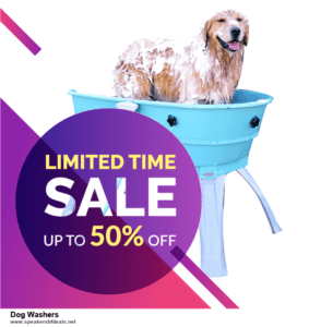 Grab 10 Best Black Friday and Cyber Monday Dog Washers Deals & Sales