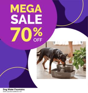 9 Best Dog Water Fountains Black Friday 2020 and Cyber Monday Deals Sales