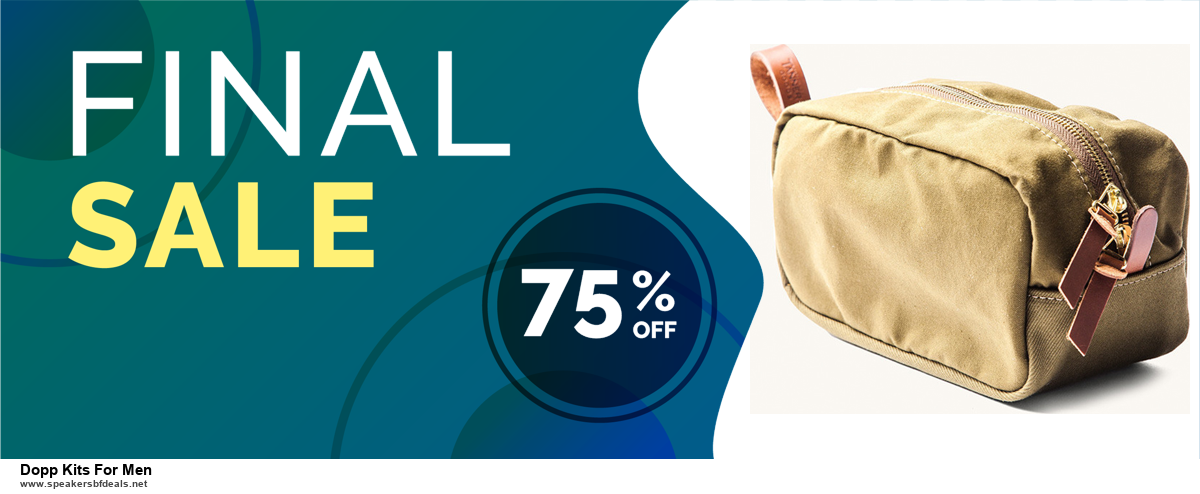Grab 10 Best Black Friday and Cyber Monday Dopp Kits For Men Deals & Sales